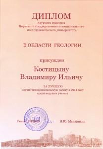 Диплом Костицын